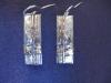 forest earrings plain