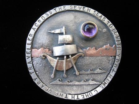 Love Token pendant/brooch